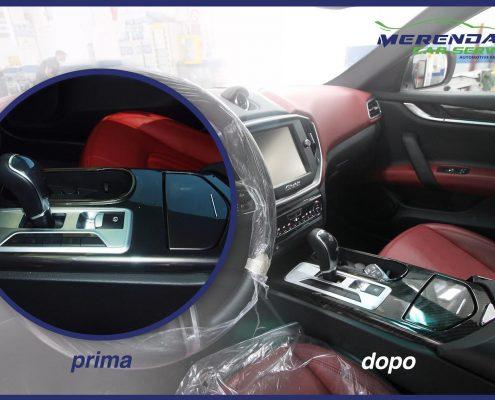 Cubicatura Consolle centrale Maserati Ghibli