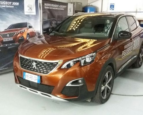 peugeot 3008 senza Car wrapping