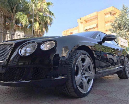 Verniciatura carrozzeria Bentley
