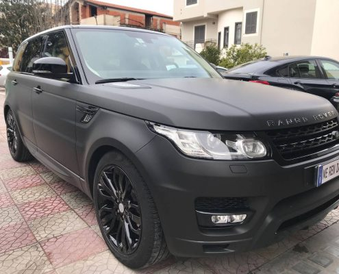 CAR WRAPPING RANGE ROVER