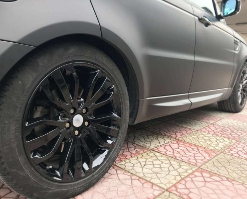 CAR WRAPPING RANGE ROVER SPORT