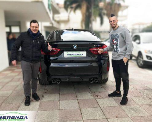 Cambio di diffusore posteriore SOUND KIT e Impianto Evolution per BMW X6 M