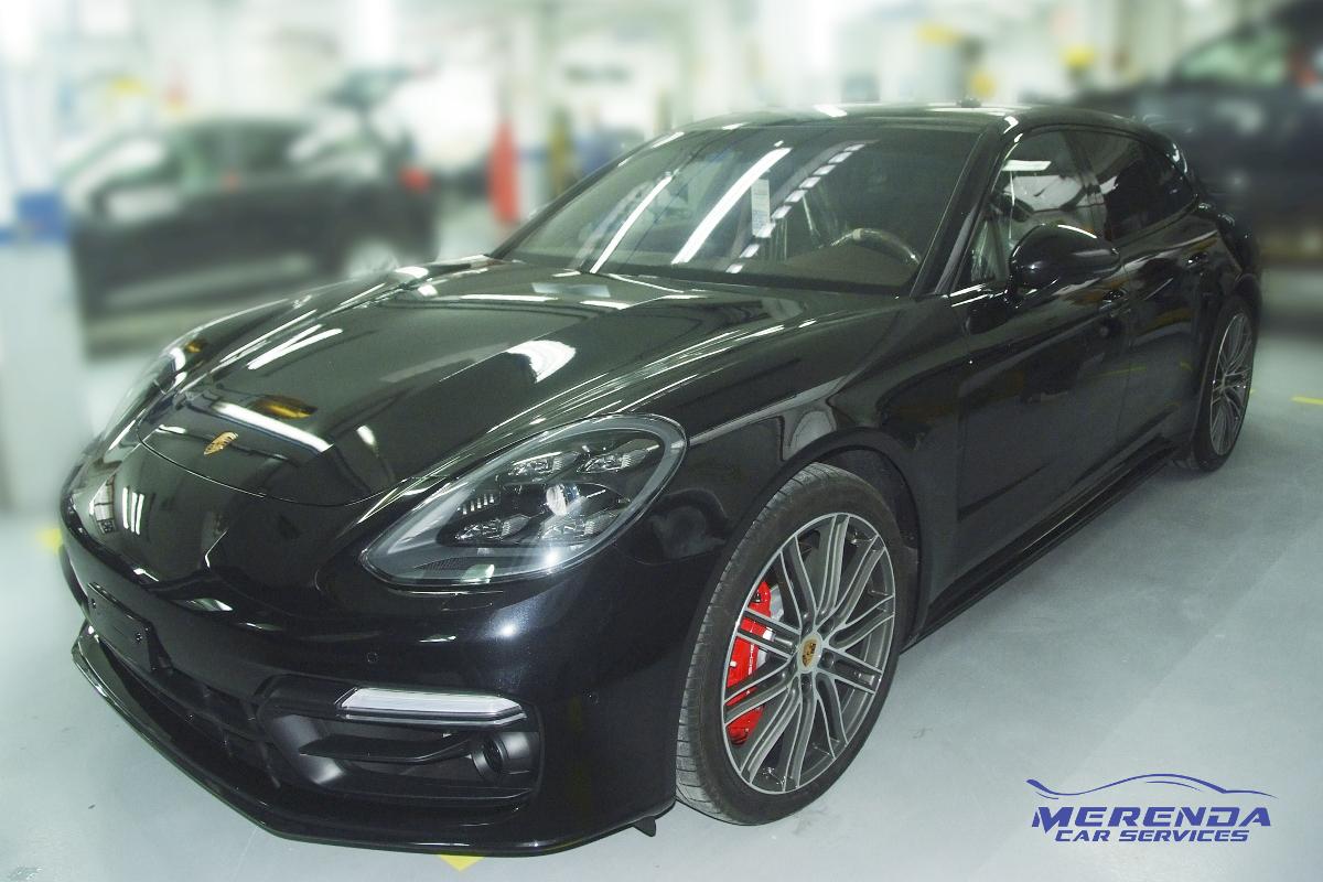 Car Wrapping Porsche Panamera