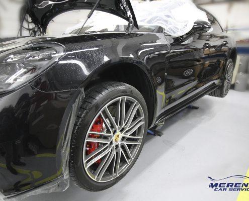 Pellicolatura Porsche Panamera Turbo