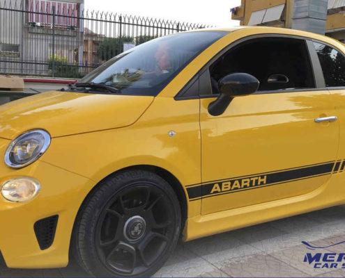 New graphic design Fiat 500 Abarth