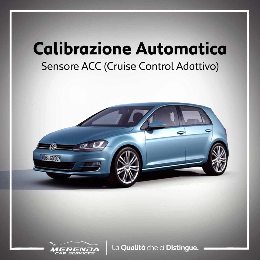 Calibrazione Sensore ACC Volkswagen Golf