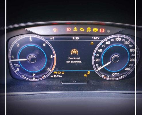 Calibrazione Cruise Control Adattivo su Volkswagen Golf