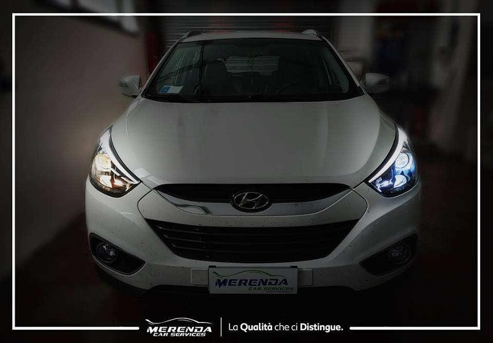 Trasformazione Fari Full LED Hyundai ix35