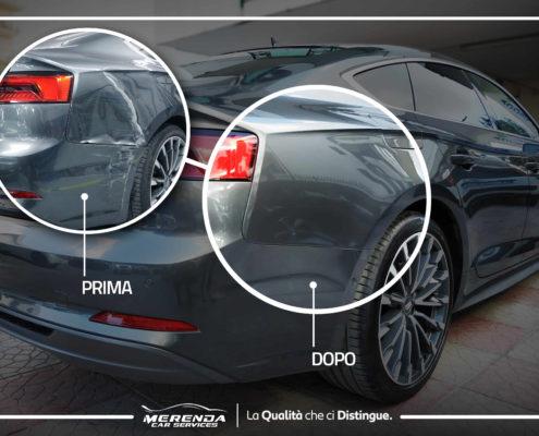 RIPARAZIONE CARROZZERIA AUDI A5 QUATTRO S TRONIC SPORTBACK