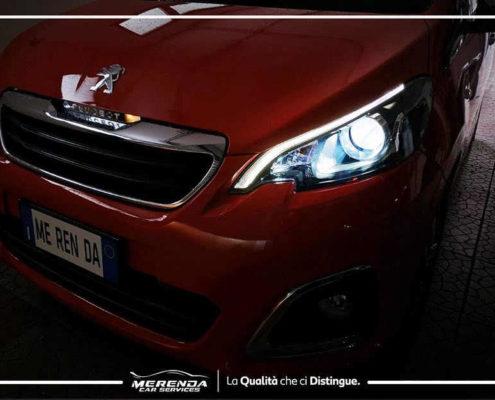 Trasformazione Fari Full LED Peugeot 108