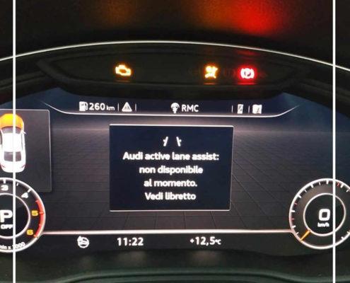 Calibrazione doppio radar nuova Audi A 5