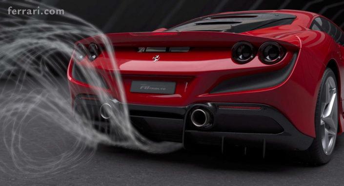 Le prestazioni del Ferrari F8 Tributo