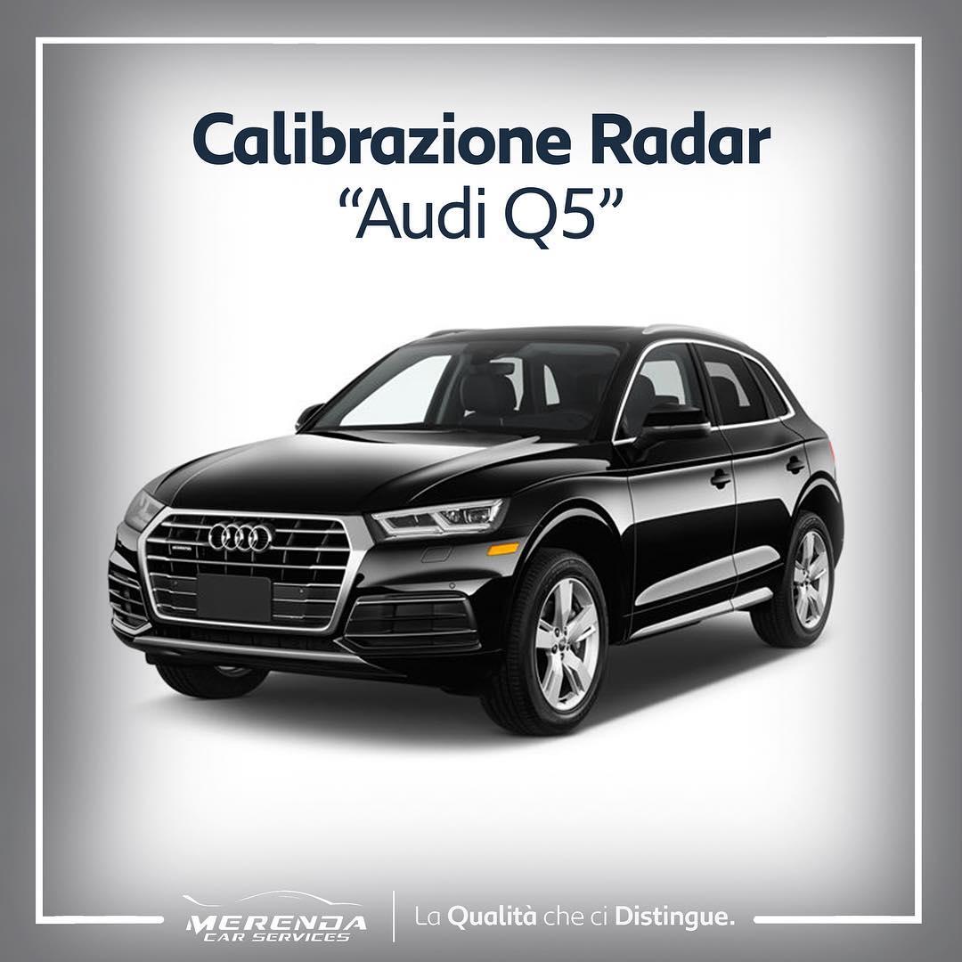 Calibrazione radar Audi Q5