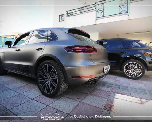 Trattamento al Teflon e Car Wrapping per Porsche Macan