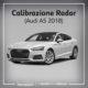 CALIBRAZIONE RADAR Audi Nuova A5