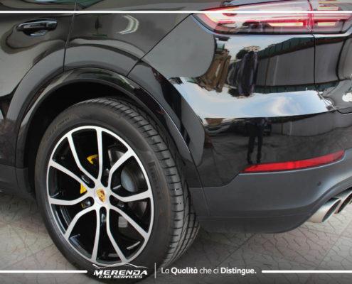 Verniciatura Pinze e Riprestino Cerchi Nuova Porsche Cayenne Turbo