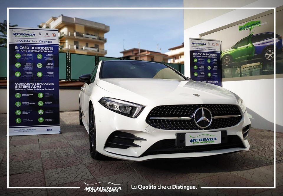 Ripristino carrozzeria Mercedes-Benz Classe A