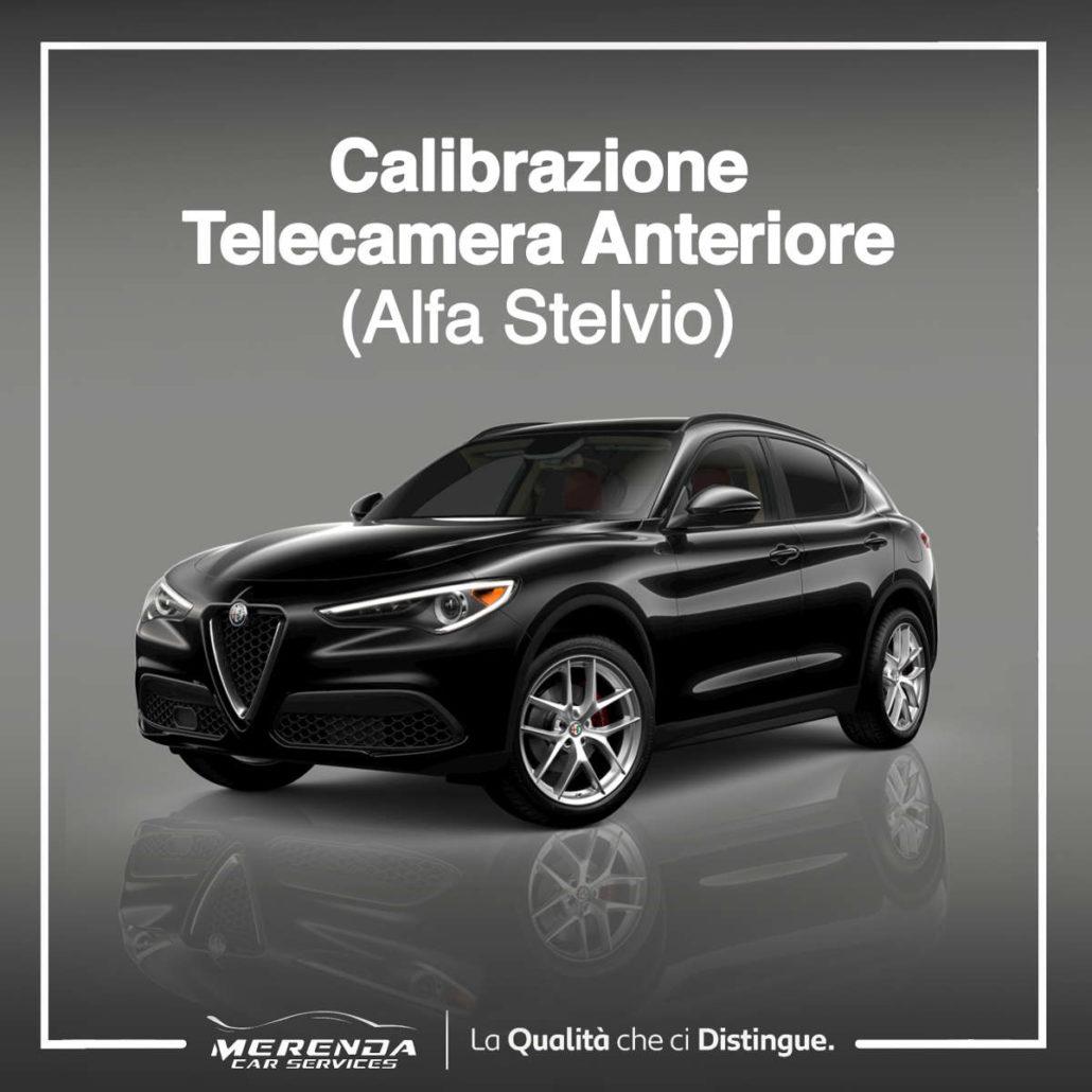 CALIBRAZIONE TELECAMERA ANTERIORE ALFA ROMEO STELVIO