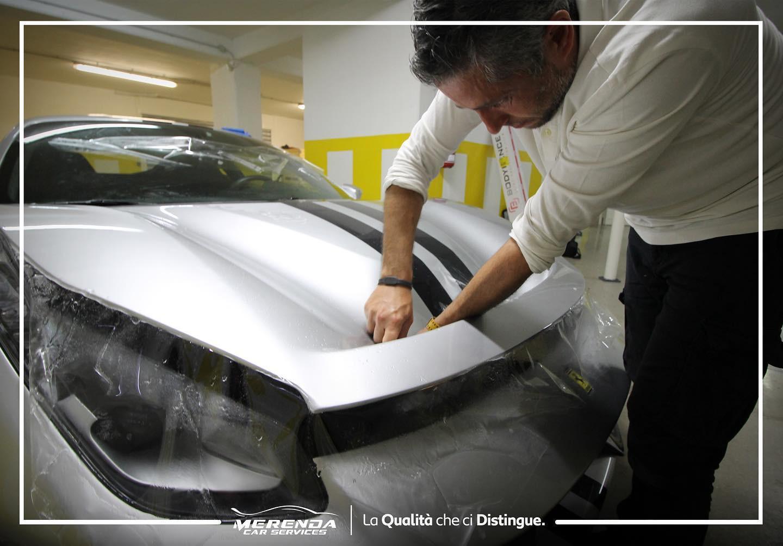 Protezione totale carrozzeria Ferrari 488 Pista