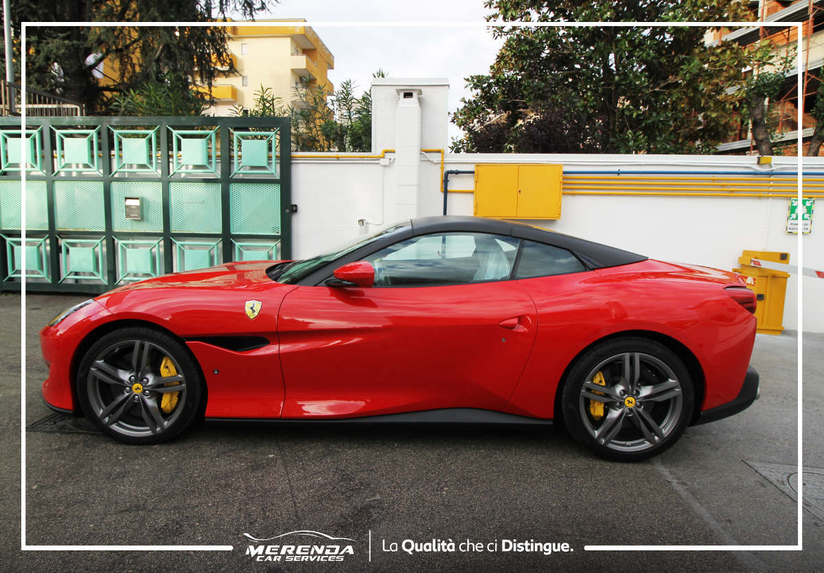 Protezione Totale con pellicola trasparente Ferrari Portofino