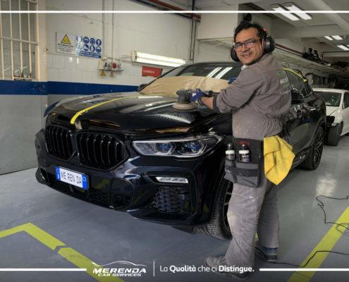 LUCIDATURA SU BMW X6 M SPORT