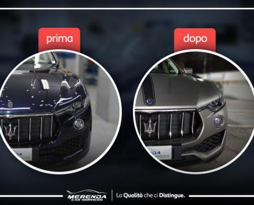 Car Wrapping Totale Maserati Levante