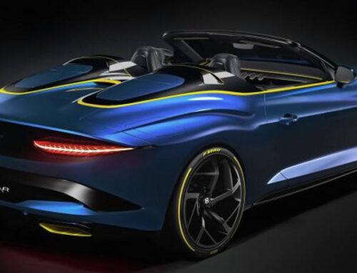 Sei possibili configurazioni della Bentley Mulliner Bacalar