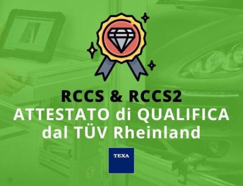 La calibrazione RCCS e RCCS2 per le telecamere e radar auto