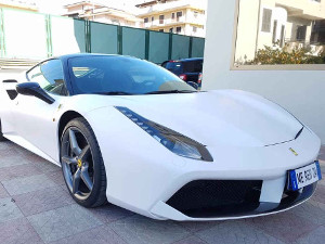 CAR WRAPPING TOTALE FERRARI 488
