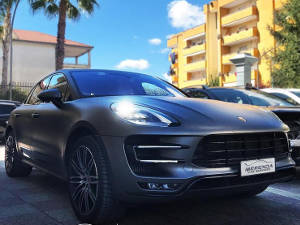 CAR WRAPPING PER PORSCHE MACAN