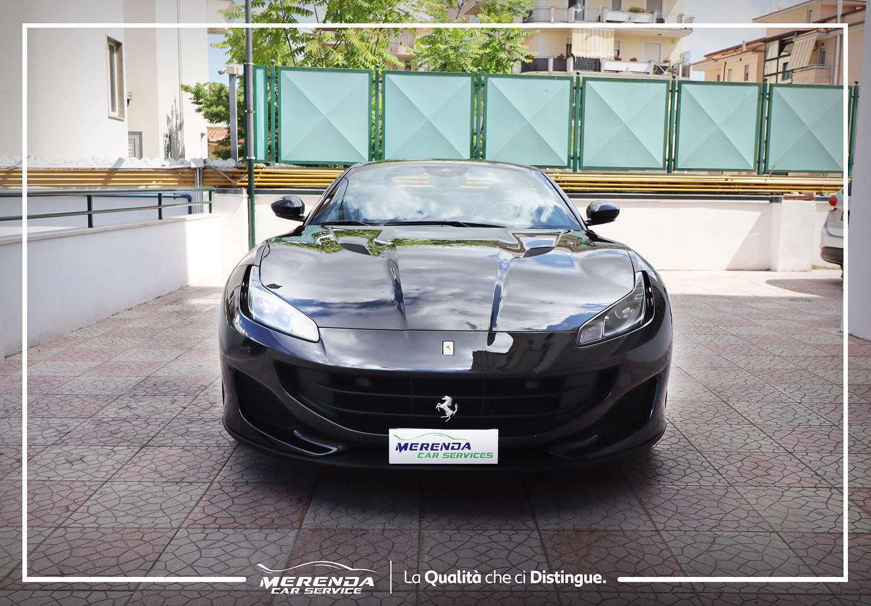 Pellicolatura protettiva anti sasso, anti abrasione e antisbiadimento su Ferrari Portofino