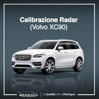 CALIBRAZIONE RADAR VOLVO XC90