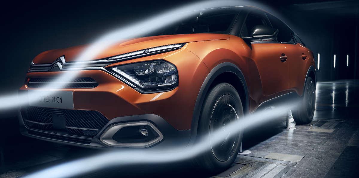 Nuova Citroën C4 e Nuova e-C4 100% Elettrica