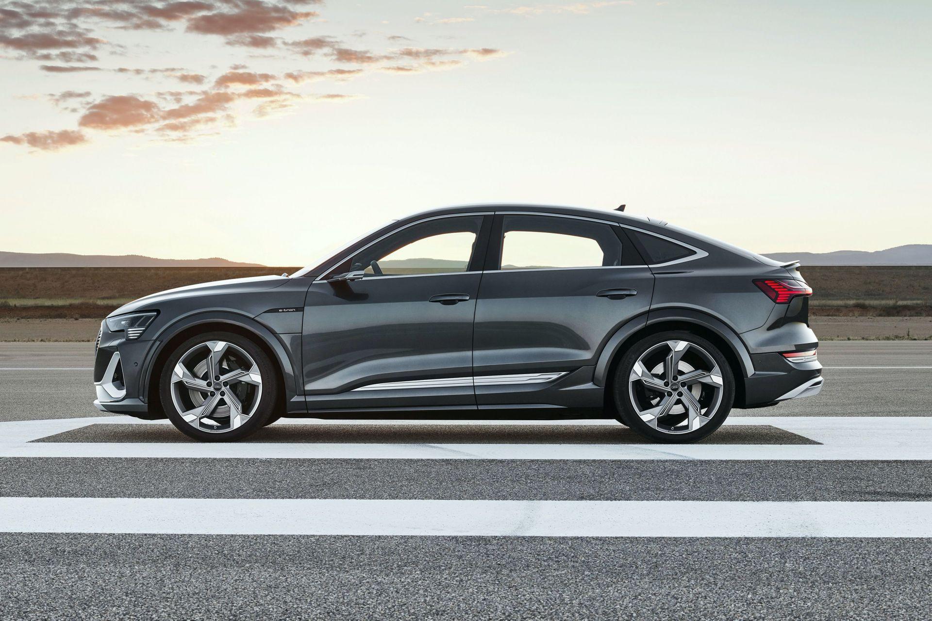 Nuove Audi e-tron S ed e-tron S Sportback