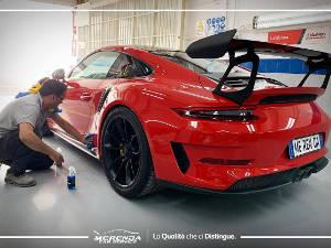 Trattamento Nanotecnologico Carrozzeria Porsche GT3 RS