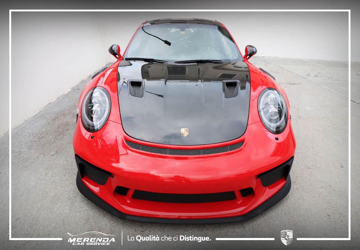 Applicazione Pellicola PPF su Porsche GT3 RS