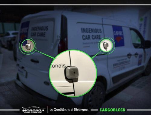 Installazione Chiusura Blindata Cargoblock su Transit Connect