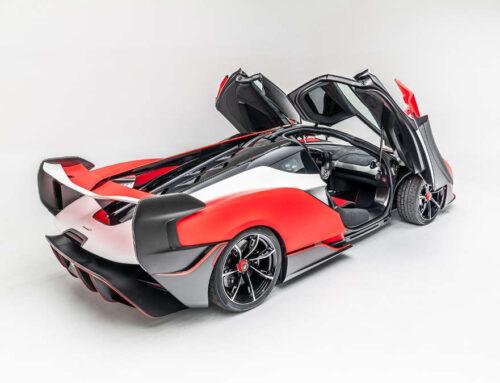 McLaren Sabre, supercar molto particolare
