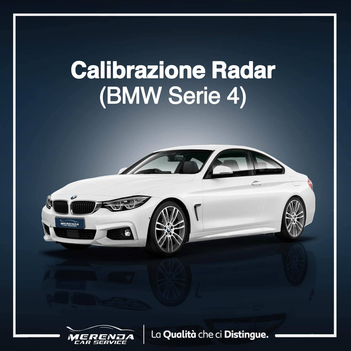 Calibrazione Radar BMW Serie 4