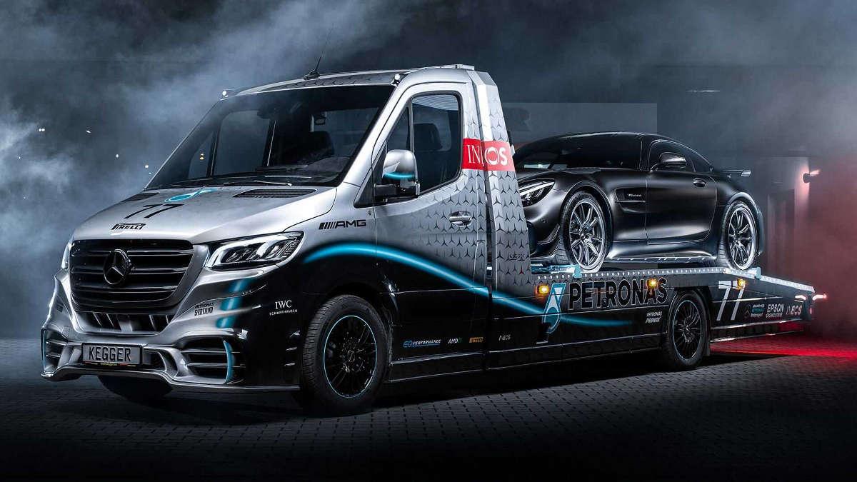 Carro Attrezzi Mercedes Sprinter di Kegger