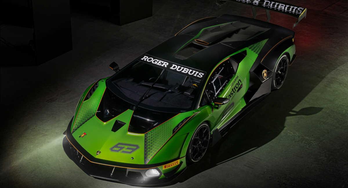 Lamborghini Essenza SCV12 roll-bar in fibra di carbonio