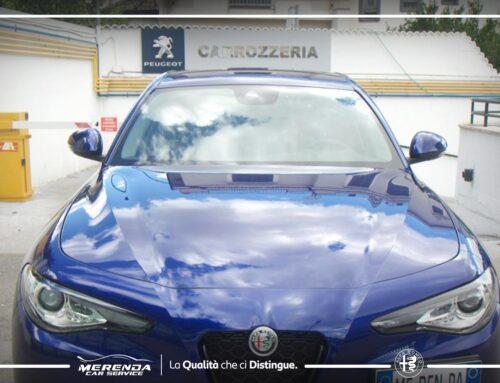 Applicazione Pellicola PPF su Alfa Romeo Giulia