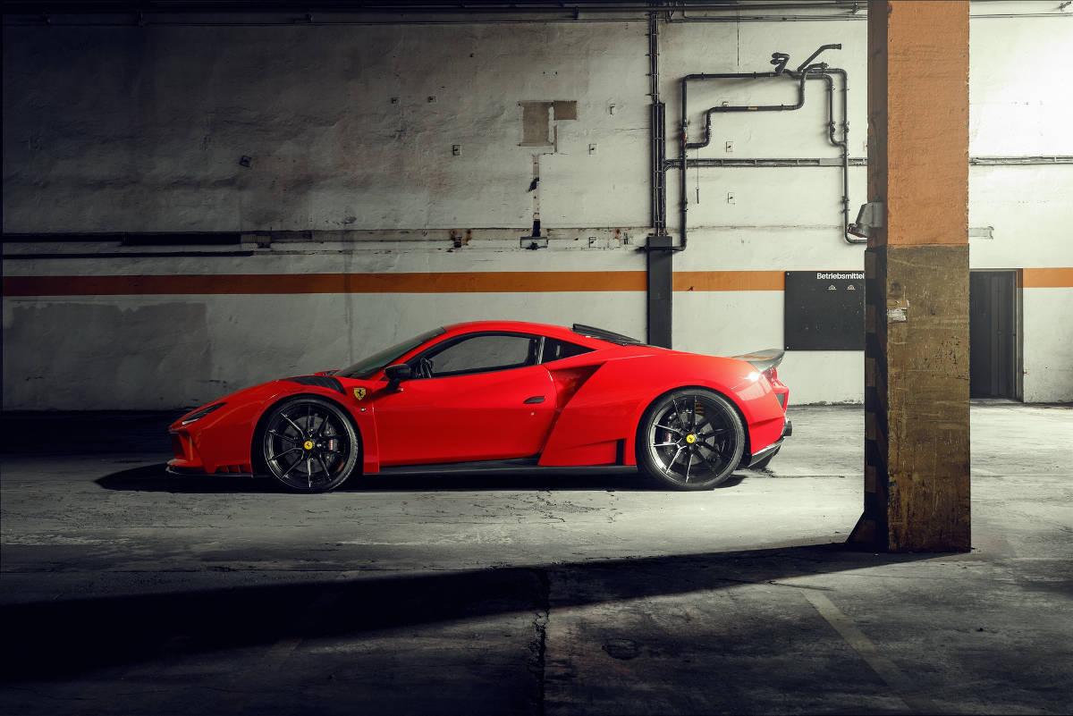 Ferrari F8 N-Largo di Novitec