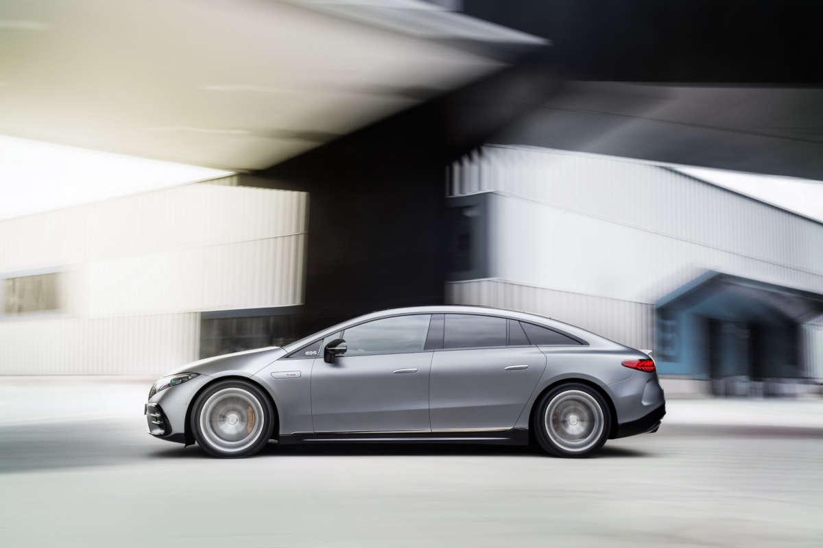 Nuova Mercedes-AMG EQS 53